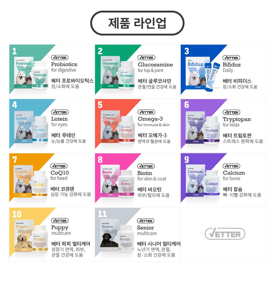 [EVENT] Vetter 댕냥이 영양 파우더 11종 (관절/피부/안정/눈/장/소화)-상품이미지-0